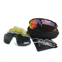 Novo estilo ciclismo óculos de sol esporte bicicleta óculos outdoor homens mulheres óculos de óculos modelo 9442 qualidade superior 5 lente com caso
