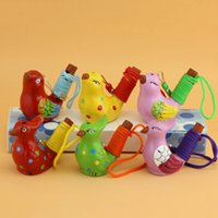 Ceramic Water Bird Whistle Waters Ocarina Song Novelty Items Home Decoration Kids Toys Gift Christmas Party Favor