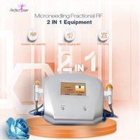 Fraksiyonel RF Microneedle Makinesi Mikro İğne Rulo Dermatoloji Sistemi Kesirli Radyo Frekansı Güzellik Ekipmanları RF Makinesi