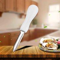 الفولاذ المقاوم للصدأ المحار سكين متعددة الوظائف غير زلة المفتوحة شل المضادة - زلة مقبض سماكة أداة الرئيسية مطبخ المقالات EEA2170