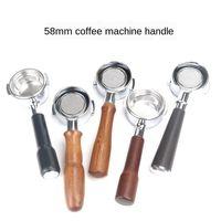 Expobar E61 máquina de café sólido madeira de madeira sem fundo Portafilter 58mm universalmente aplicável grouphead mogno sem fundo PO
