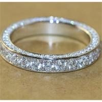 Eheringe 925 Damen Mode Liebe Ringe Finger Schmuck Sterling Silber Engagement Hochzeit Band Ringe Für Frauen Y0420