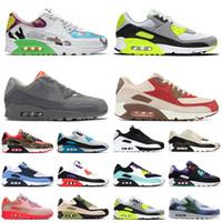 max 90 90s hommes femmes coussin chaussures de course free run mousse verte en plein formateurs baskets Denham évasion lahar violet lumineux formateurs