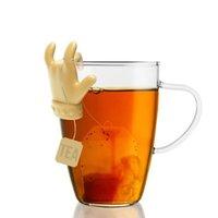 Thé de gel de silice bleu rouge durable Thée de cuillère à café de cuillère à thé
