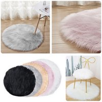 Area Soft Rug Fur Carpet Rugs for Bedroom White Room Floor Shaggy Silky Rugs#9 Faux Living Faux Plush Sheepskin Bedside Fur Rwgqb