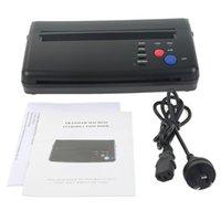 Flashes tatuagem estêncil transferência flash copiadora hectografia térmica máquina de impressora cis scan preto cor norte-reino unido au plugue disponível