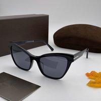 5601 Новые модные дизайнер Солнцезащитные очки Plate Очаровательная CAT GEAN GOOGGLE Рамка Очаровательный стиль Adumbral Топ-качество УФ-Устойчива 400 Очки