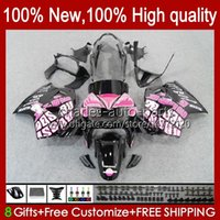 Honda Interceptor VFR800RR VFR800 98 99 00 01 Bodywork 99HC.13 VFR800R VFR 800RR 800 RR 1998 1999 2000 2001 Fairings Repsol Pink