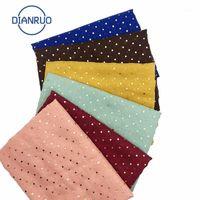 Sciarpe Dianruo Moda Gold Dot Stampa Sciarpa multicolore da donna Sciarpa ISlamica Headcloth Autunno Scialli da donna Autunno Scialli e avvolgimenti R1611