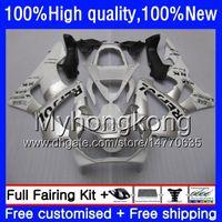 Kropp för Honda CBR900 RR CBR 929 RR CBR 900RR CBR929RR 00 01 50HM.152 CBR 929RR CBR900RR CBR929 RR 2000 2001 Fairing Kit Repsol Vit Silver