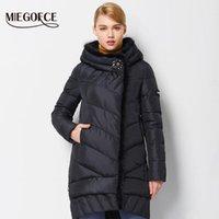 MIEGOFCE 2016 Yeni Kış Kadın Ceket Ceket Orta Uzunlukta Sıcak Yüksek Kalite Kadın Aşağı Parka Kış Coat Sable Fur1 ile