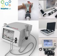 Physiothérapie à ultrasons de Machine à ondes de chocs Pénumatiques de ultrashant 2 en 1 Pénumatique pour la douleur corporelle Machine de thérapie acoustique