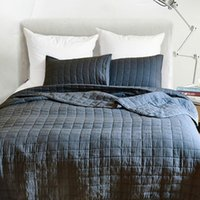 Exklusives Bettdecke Steppbett Spread Gitter Bettabdeckung doppelt leichte Kürze Set Quilt Decke1