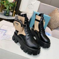Rois Martin أحذية النساء الكاحل جلد طبيعي نماذج القتال العسكرية منصة حقيبة الأحذية ثلاثية البقر أحذية دراجة نارية
