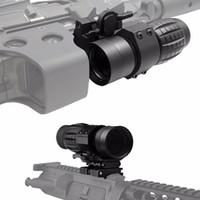 3x Loupe Scope Dot Scope Riflescope avec interrupteur de sortie Qucik sur le support latéral