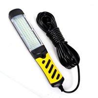 Lanternes portables LED Inspection Light Work Lampe de réparation Auto avec un crochet magnétique fort 220V voiture de secours spécial11