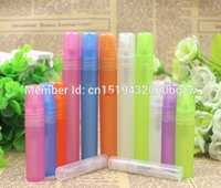 3ml 5ml 10ml 15ml 20ml 30ml colorful Plastic Perfume Spray Bottle Cosmetic Water Sample Tube Refillable Pen Travel Containergood qualtitygoo