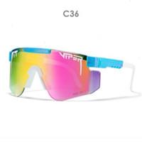 Neue Polarisierte doppelt breites Pi Vipe Rennrad Sonnenbrille Sport Outdoor Skibrillen Verfärbung Heißer Verkauf Freies Verschiffen