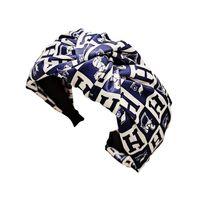 Дизайн Twist Turban Oversband Письмо Лошадь Печать растягивающихся волос Спортивные повязки Йога Headwrap Bandana Женщины Леди Аксессуары для волос