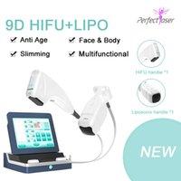 높은 강도 집중 초음파 Hifu liposonix 2 in 1 슬리밍 피부 리프팅 미용 기계 삭제 목 주름 CE 승인