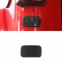 Углеродное волокно Внешний автомобиль навесной задний фонарь нижняя отделка для Jeep Wrangler JK 2007-2017 Auto Windows Accessories