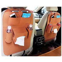 Автомобильное сиденье заднее хранение сумка для хранения владельца оправочник фетровый ткань многомакварная автомобильная машина для хранения автомобилей, висит мешок моющийся чехол VTKY2339