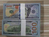Banknote Neue Fälschung Spielzeug Dollar Atmosphäre Bühne Geld Verkauf Film 100 Sammlung Hot Gun Party L0129-14 Bar Prop Fake Play Banknote PWAC