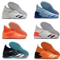 2020 Hot Predator 20.3 haute cheville Mens TF Chaussures de football Football Crampons Formateurs en cuir intérieur Turf Mode Chaussettes Chaussures de football