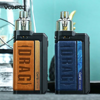 Autentica Voopoo DRAG Max 177W TC Pod Mod Kit Powered By doppio 18650 Con PNP serbatoio compatibile Tutti PnP bobine 100% ORIGINALE
