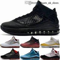 Scarpe كرة السلة الأطفال الرجال المدربين lebrons 7 سلال 46 حجم لنا رجل كبير كيد بنين الكلاسيكية اليورو أحذية النساء 38 12 جيمس رياضة lebrons
