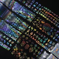 Nail Art Decor Sticker 4 * 100 cm Pianta Animale Naturale Diversificazione Naturale Design Adesivi olografici Lady Manicure Decorazione Decalcomanie Nuovo 1 6QS L2