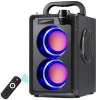 TopRoad 20W Bluetooth Speaker Portátil Sem Fio Subwoofer Subwoofer Big Party Speakers Coluna Suporte FM Rádio Remoto Control1