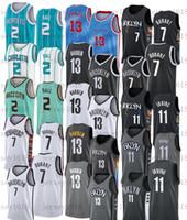 2021 New Jerseys 13 James Harden Lamelo 2 الكرة 21 7 كيفن كرة السلة جيرسي ديورانت كيري جوردون 20 هايوارد 11 ايرفينغ