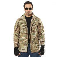 Vestes d'hommes Archon Men Tactical Windbreaker Extérieur Camouflage Veste de camouflage Armée étanche Combat Chasse Vêtements Hiver Coat 3xL1