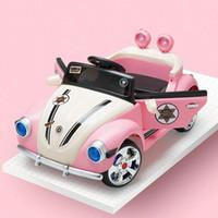 الأطفال المزدوج محرك كهربائي السيارات للأطفال لطيف الأميرة بالعجلات الأربع التحكم عن بعد سيارة لعبة طفل سيارة كهربائية للأطفال ركوب