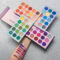 Güzellik Sırlı 60 Renk Göz Farı Dört katmanlı Makyaj Kozmetik Vurgu Göz Farı Paleti Mat Sedefli Göz farı