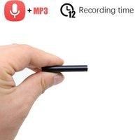 Jozuze kleinster Mini-USB-Stift-Stimme aktiviert digitaler Audio-Voice-Recorder MP3-Player 192kbps Aufnahme Super-Long-Standby1