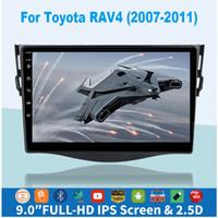 Android 9.0 Video Player Multimédia voiture pour Toyota RAV4 Rav 4 2007 2008 2009 2010 2011 Avec Radio Gps 2DIN Bluetooth
