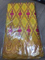 5yards İsviçre dantel kumaş sarı Afrika pamuk dantel nigerian tül nakış Afrika% 100 pamuklu kumaşlar İsviçre tül dantel