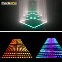 스페인 주식 LED 벽 세탁기 무대 조명 14x3W DMX 라이트 바 픽셀 제어 RGB 3in1 이벤트 쇼 파티를위한 컬러 믹싱