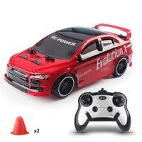 Fernbedienung Rennwagen 30 km / h 2.4g 4WD RC Drift Geschwindigkeit Funksteuerung Offroad Fahrzeug Spielzeug für Kinder RC Car Gift 201226