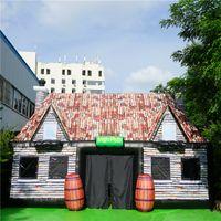 Pub inflável de venda quente com frete grátis Inflatables barra irlandesa com ventilador para decoração de festa feliz