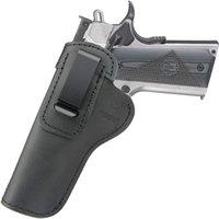 IWB Lederholster für in den Bund mit verdecktem Carry Fits: 1911 Pistolen Regierung (5 Zoll) -Commander (4,25 Zoll)