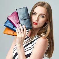 Moda Luxo Mulheres Carteira dos Homens Senhora Longa Moeda Moeda Card Boxers Case Saco Grande Capacidade Embreagem Notecase