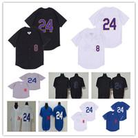 2020 Los Angeles Baseball 8 24 Bryant KB Noir Mamba Lad Jersey pas cher Hommes Femmes Jeunes Jeunes Jeunes Chemise Couture Jaune Bleu Blanc Blanc Gris Bien