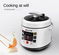 Fogões de arroz Fogão elétrico Fogão de pressão Reservation Stew Pot 2.5L 110V 220V UE US1