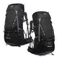 Outdoor-Taschen Sport Wasserdicht Rucksack mit Innenrahmen Trekking Reisen Tagspakete Regenschutz Unisex Große Kapazität H7JP