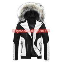 2020 새로운 디자이너 스웨터 T 셔츠 망 던 트랙 슈트 남성 겨울 코트 까마귀 망 재킷 남성 의류 스웨터 후드 Winterjacke L-3XL