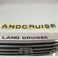 Toyota Land Cruiser için Ön Bonnet Amblem Insignia Logosu Rozeti Sembolü Araba Çıkartması