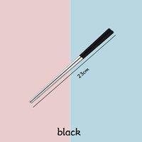 Aço Inoxidável Chopsticks metal varas da costeleta Louça Prata Multicolor Louça casamento Festival Party Supplies 4 cores HHB2238